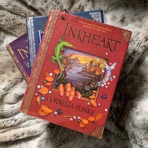 Inkheart, Inkspell, Inkdeath by Cornelia Funke lot